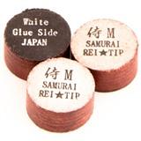 """Наклейка для кия """"Rei Samurai White"""" (M) 14 мм, интернет-магазин товаров для бильярда Play-billiard.ru"""