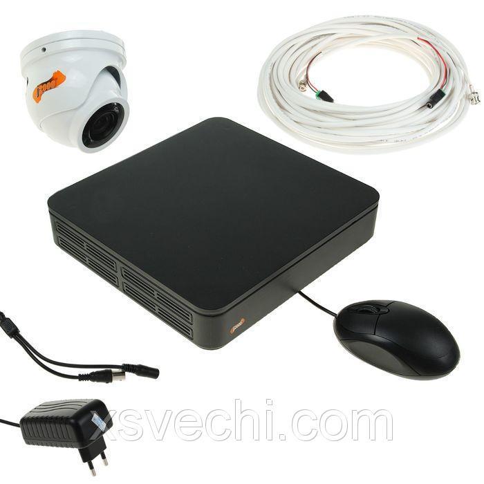 Комплект AHD видеонаблюдения J2000-Outdoor, 1 уличная камера, 720 Р