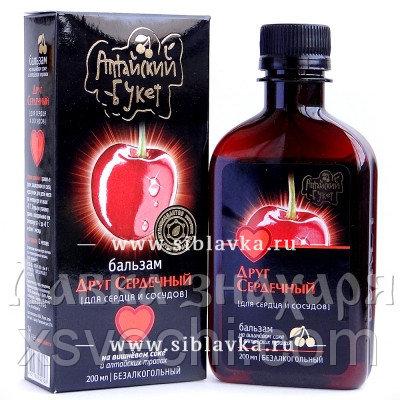 Бальзам «Друг сердечный» для сердца на вишневом соке