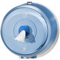 Мини диспенсер для туалетной бумаги Tork SmartOne полупрозрачный синий 472025