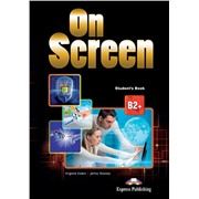 On screen b2+ student's book - учебник