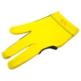 """Перчатка бильярдная """"WB"""" (черно-желтая), защита от скольжения, интернет-магазин товаров для бильярда Play-billiard.ru"""