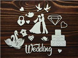 Набор Свадебный 1