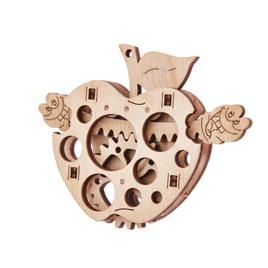 Wood Trick 3D-пазл из дерева Wood Trick Вудик Яблоко