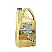 Моторное масло RAVENOL  RHV Racing High Viscosity SAE 20W-60 (4л)