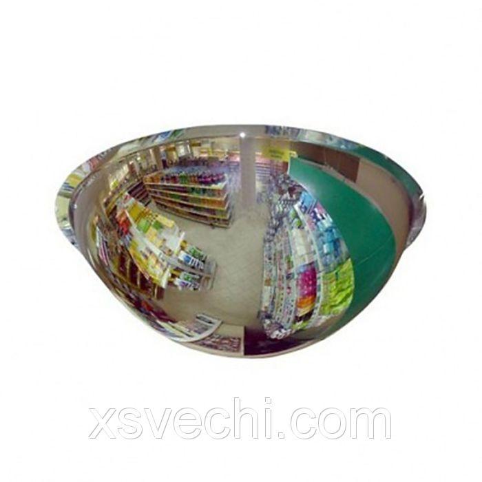Зеркало для помещений купольное, полусфера, d60