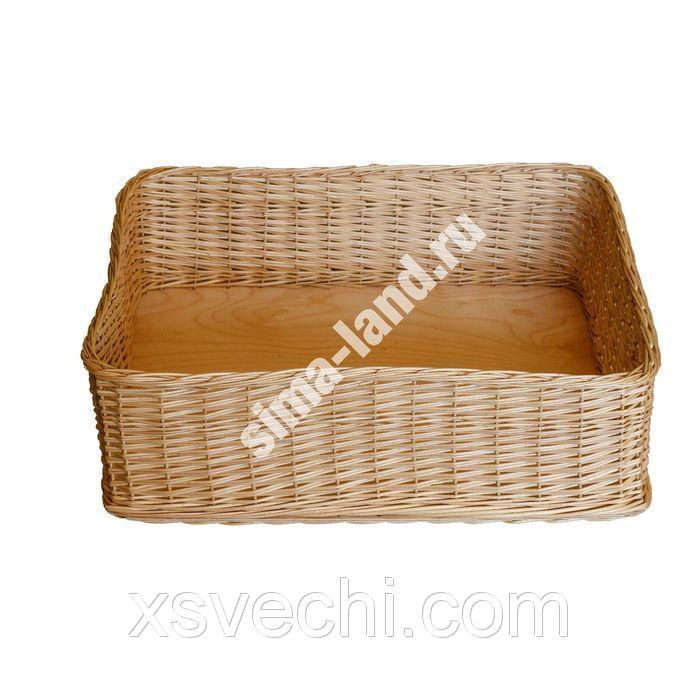 Короб плетеный корзиночным методом 2