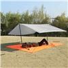 Коврик/Тент/Навес 3в1 для пляжа и пикника Magic Mat 290x200 см. в чехле Серый