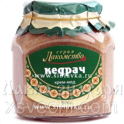 Крем-мед «Кедрач»