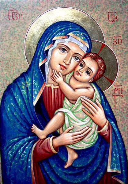 Икона Пресвятой Богородицы «Отчаянных единая надежда»