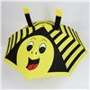 Зонт детский 3D полуавтомат Пчелка со свистком и ушками №30