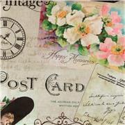 Ткань MEMORIES 001 ROSE ORIGINAL