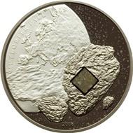 МЕТЕОРИТ вставка ПУЛТУСК серебро Кука 2008