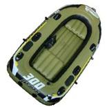 Лодка надувная Fishman 300 SET (весла+насос) JL007208-1N