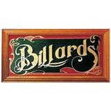 "Зеркало-постер ""Billiard"", интернет-магазин товаров для бильярда Play-billiard.ru"