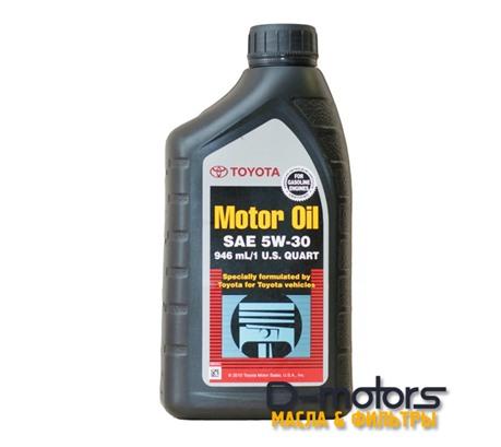 TOYOTA MOTOR OIL 5W-30 SN (0,946л.)