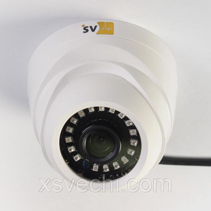 Видеокамера IP купольная SVplus SVIP-240, 1 Мп, 720 Р, ИК 25 м МИКС