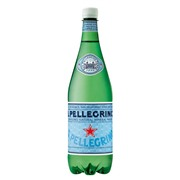 SanPellegrino 1L в пластике упаковка минеральной воды с газом - 6 шт.