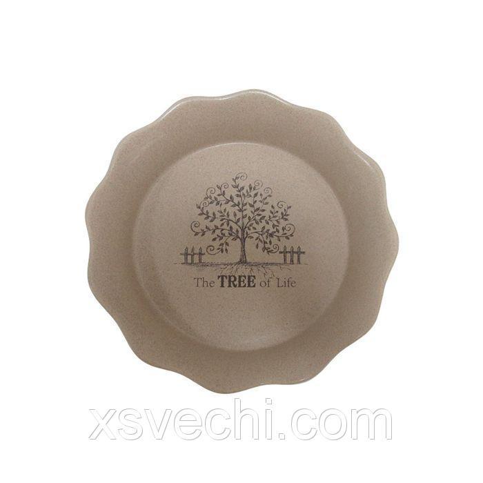 """Блюдо круглое для выпечки """"Дерево жизни"""", 26 см"""
