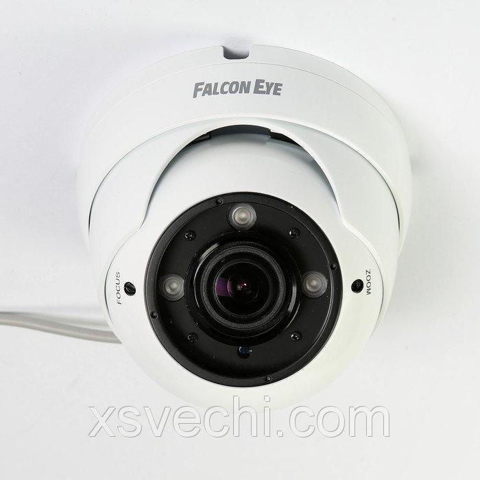 Видеокамера купол Falcon Eye FE-IDV1080MHD/35M, AHD/CVI/TVI, 2 Мп, 1080Р(FullHD)