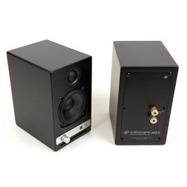 Audioengine Полочная активная акустика Audioengine HD3-CHR (Черный матовый)