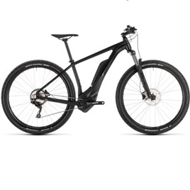 Велосипед CUBE REACTION HYBRID PRO 400 29 (black edition) 2019, интернет-магазин Sportcoast.ru