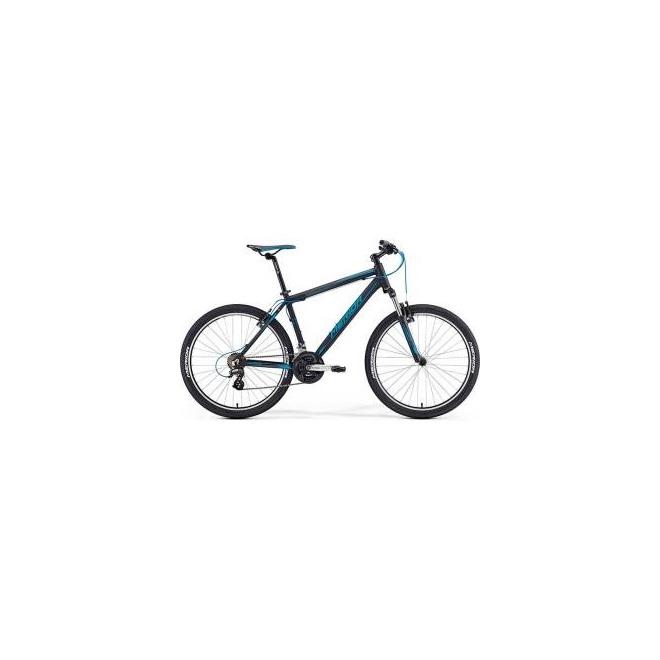 Велосипед Merida Matts 6.10V Matt Black/Blue (2016) , интернет-магазин Sportcoast.ru