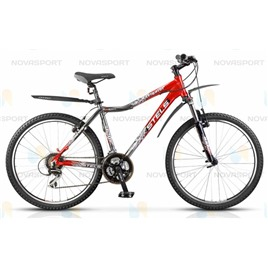 Велосипед Stels Navigator 690 (2013) Хром/Красный , интернет-магазин Sportcoast.ru