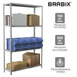 Стеллаж металлический Brabix MS Plus-185/50-4 (S241BR155402)