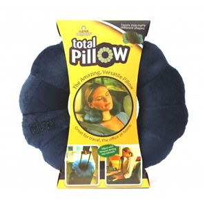 Подушка-трансформер для путешествий Total Pillow (Тотал Пиллоу) Темно-синяя
