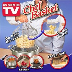 Складная решетка Шеф Баскет (Chef Basket) для приготовления пищи в коробке