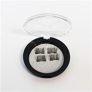 Магнитные накладные ресницы на четырех магнитах HUDA BEAUTY №021