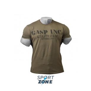 Футболка GASP Basic Utility Tee,  Wash Green