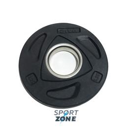 Диск олимпийский 1,25 кг ZIVA серии ZVO уретановое покрытие черный