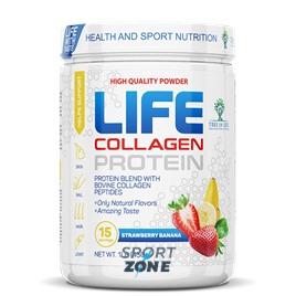 LIFE Protein + Collagen 1lb Многокомпонентный протеин с высоким содержанием гидролизованного коллагена