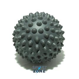 Мяч массажный 9 см серый