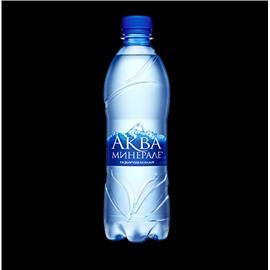Минеральная вода Аква Минерале 0.6 л.