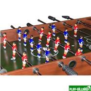 Weekend Настольный футбол (кикер) «Standart» (122x61x78.7 см, коричневый), интернет-магазин товаров для бильярда Play-billiard.ru. Фото 5