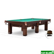 Weekend Бильярдный стол для русского бильярда «Provincial» 9 ф (6 ног, плита 25 мм), интернет-магазин товаров для бильярда Play-billiard.ru