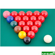 "Aramith Saluc Комплект шаров 52.4 мм ""Aramith Snooker"", интернет-магазин товаров для бильярда Play-billiard.ru. Фото 2"