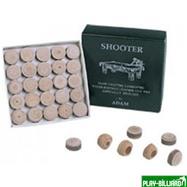 DBO Наклейка для кия «Shooter» (M) 14 мм, интернет-магазин товаров для бильярда Play-billiard.ru