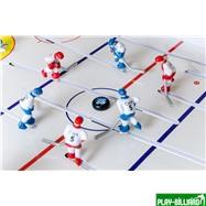 Red Machine Настольный хоккей «Юниор» (96 x 55 x 19.5 см, цветной), интернет-магазин товаров для бильярда Play-billiard.ru. Фото 5