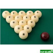 "Aramith Saluc Комплект шаров 60.3 мм ""Aramith Premier"", интернет-магазин товаров для бильярда Play-billiard.ru. Фото 2"
