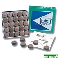 Tweeten Наклейка для кия «Triangle» 14 мм, интернет-магазин товаров для бильярда Play-billiard.ru