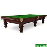 Weekend Бильярдный стол для русского бильярда «Hardy» 10 ф (черный орех), интернет-магазин товаров для бильярда Play-billiard.ru