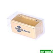 Ball Teck Мел «Ball teck PRO II» (2 шт, в золотистой металлической коробке) синий, интернет-магазин товаров для бильярда Play-billiard.ru. Фото 2