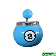 """Пепельница """"Двойка"""" (керамическая), интернет-магазин товаров для бильярда Play-billiard.ru"""