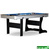 Weekend Складной бильярдный стол для пула «Team I» 6 ф (черный) ЛДСП, интернет-магазин товаров для бильярда Play-billiard.ru