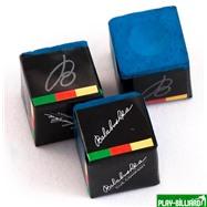 Balabushka Мел «Balabushka» (3 шт) синий, интернет-магазин товаров для бильярда Play-billiard.ru. Фото 1