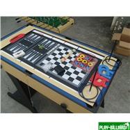 Многофункциональный игровой стол (119 х 61 х 81 см, светлый), интернет-магазин товаров для бильярда Play-billiard.ru. Фото 7